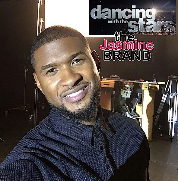 (EXCLUSIVE) Usher Cast On 'Dancing With The Stars'