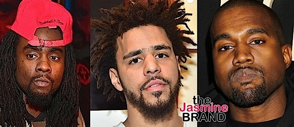 J.Cole Says Kanye West Surrounded by D*ck Riders, Calls Wale Depressing On 'False Prophets' [VIDEO]