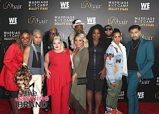 WE tv Hosts 'Marriage Bootcamp' & 'LA Hair' Premiere