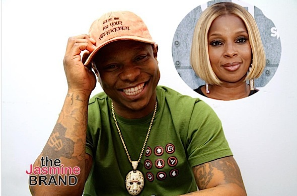 Is Mary J. Blige Dating Actor Jason Mitchell?! (Hacked Or Nah)
