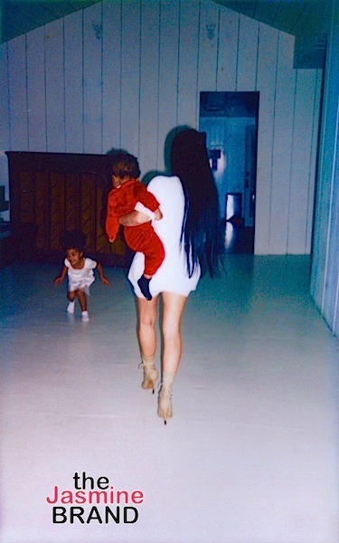 Kim Kardashian Shares More of Adorable Pics of Saint, North & Kanye West