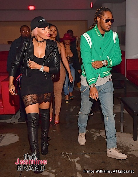 Future Hits Club With Baby Mama Brittni Mealy + Meek Mill, Porsha Williams, Tiffany Foxx Spotted