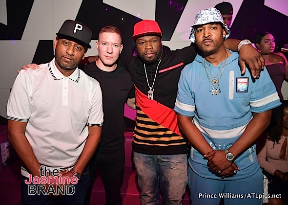 50 Cent & Power's Joseph Sikora Party in ATL