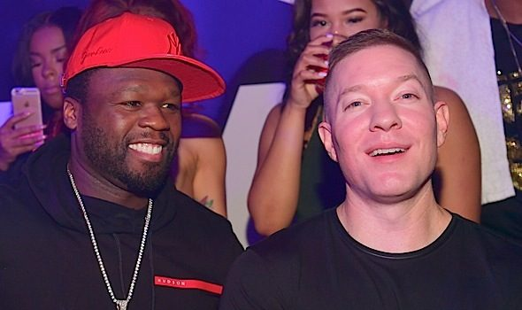 50 Cent & Power's Joseph Sikora Party in ATL [Photos]