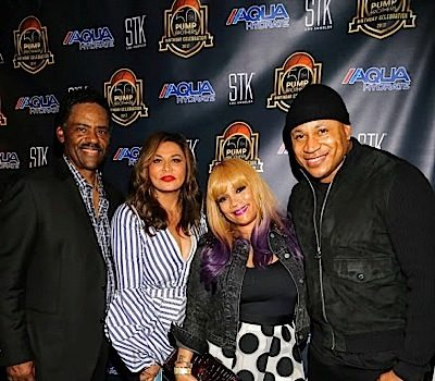 Bobby Brown, Magic Johnson, Cedric the Entertainer, Tina Lawson & LL Cool J Attend Pump Brothers Bash