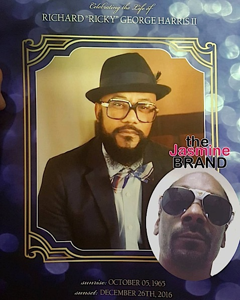 Man Attempts To Attack Snoop Dogg At Ricky Harris Funeral [VIDEO]