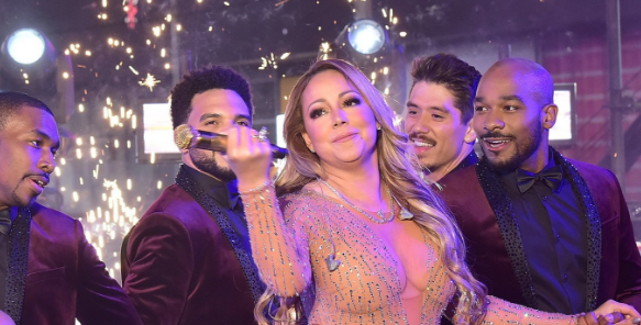 Mariah Carey Says 'Sh*t Happens' After Epic NYE Lip Syncing Fail [VIDEO]