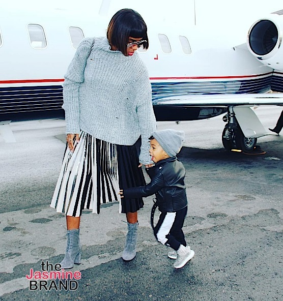 Dream Kardashian & Kelly Rowland's Son Titan Serve Cuteness, Meagan Good & Hubby Vacy In Israel + Model Ashley Graham Goes Topless [Photos]