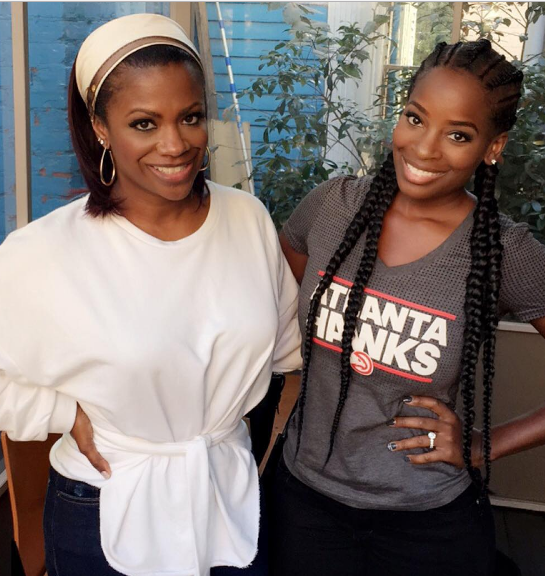 Kandi Burruss Denies Having Sex With Porsha's Best Friend: They are LYING!