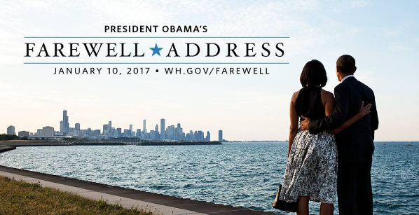 Obama Returns To Chicago For Final Farewell Address