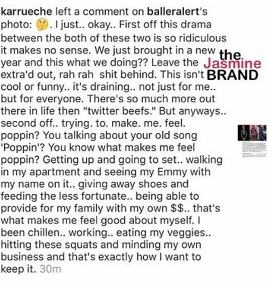 Chris Brown Tells Karrueche Tran To Shut-Up: I made you FAMOUS!