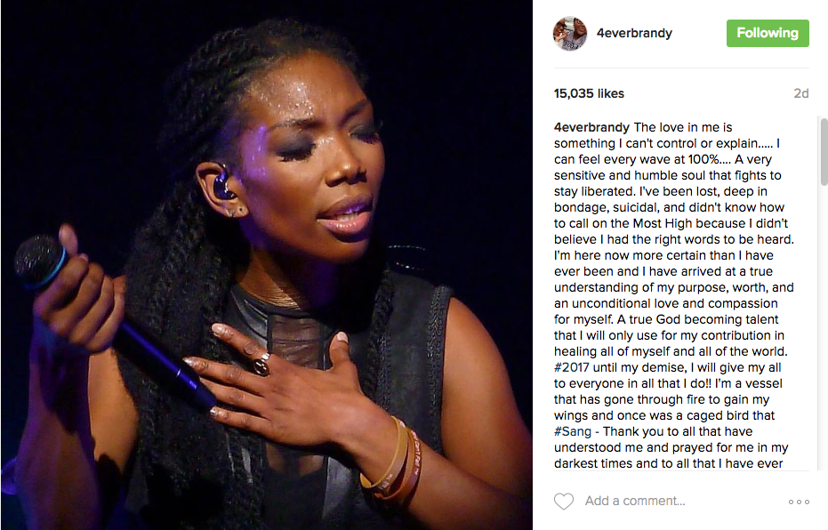 Brandy Says She Is Very Remorseful & Sorry