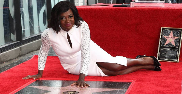 Viola Davis Receives Hollywood Star: I can not BELIEVE my life right now! [Photos]