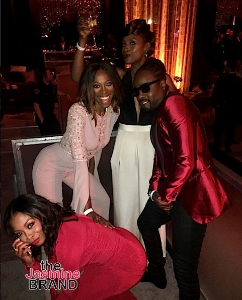 Golden Globes After Party: Tracee Ellis Ross, Cuba Gooding Jr, Niecy Nash, Gabrielle Dennis, Marlon Wayans, Kenya Moore [Photos]