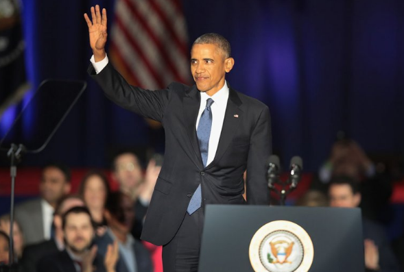 Celebs React To Obama's Farewell Address: Shonda Rhimes, Magic Johnson, Ellen & More