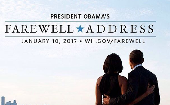 Watch Live Stream: Obama's Farewell Address