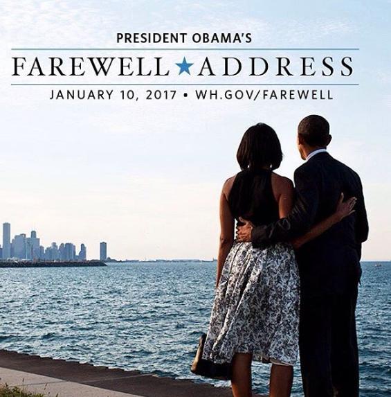 Watch Live Stream: Obama's Farewell Address