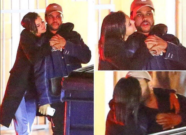 The Weeknd Spotted Kissing Selena Gomez [New Couple Alert]
