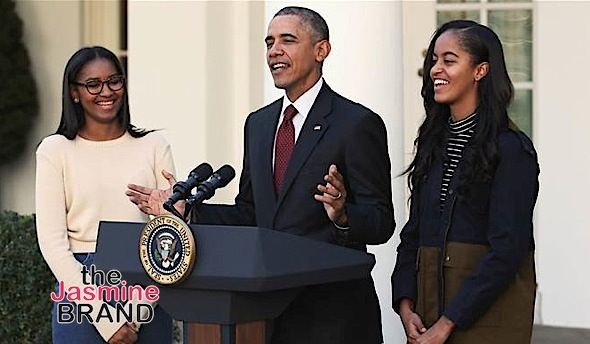 Where Was Sasha Obama During Father's Farewell? White House Explains