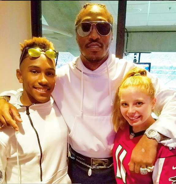 Ciara's Ex Future Spotted At Russell Wilson's Game
