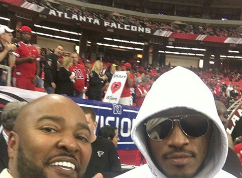 Ciara's Ex Future Spotted At Russell Wilson's Game [Photos]