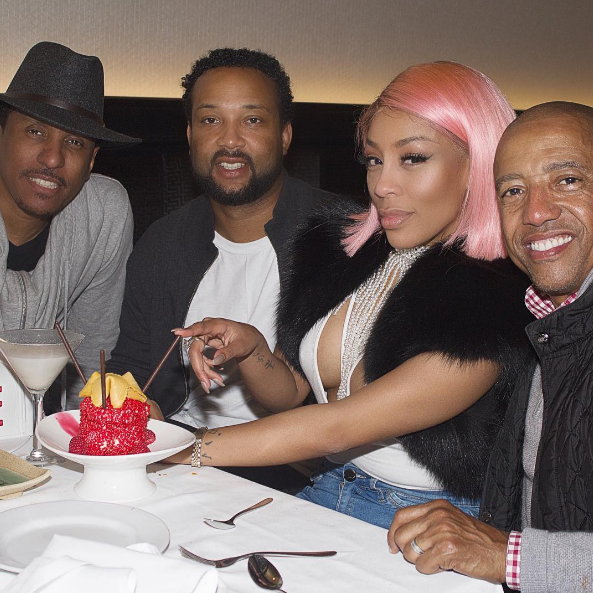 K.Michelle Hints At Engagement [Photo]