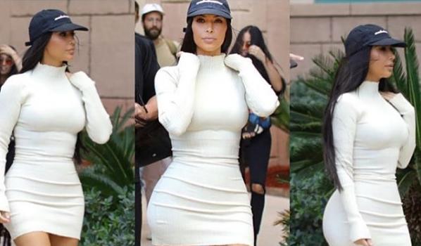 Kim Kardashian Invades Dubai [Spotted. Stalked. Scene.]