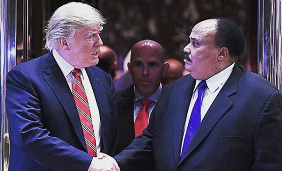 Dr. King's Son Meets With Trump On MLK Day [VIDEO]