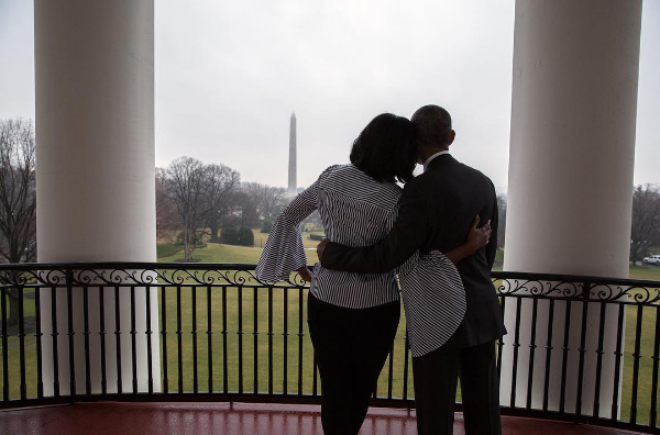 Michelle Obama Says Final Goodbye To White House