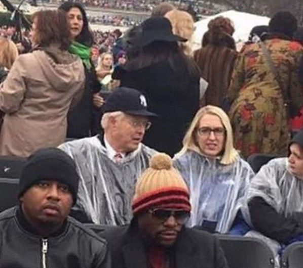 Floyd Mayweather Attends Trump's Inauguration