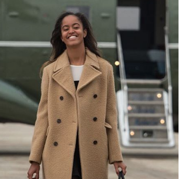 Malia Obama Lands Internship With Hollywood Producer