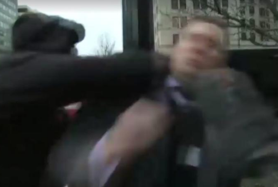 Ouch! White Nationalist Spokesman Richard Spencer Punched On Camera [VIDEO]