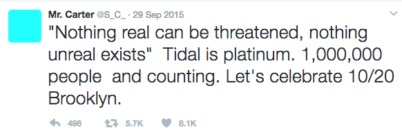 Jay Z's Tidal Accused of Inflating Number of Subscribers