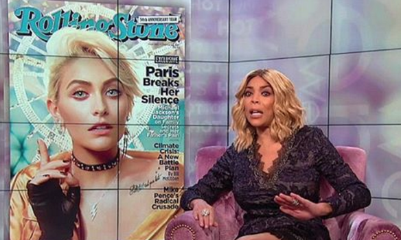 Wendy Williams Doesn't Consider Paris Jackson Black, Paris Responds