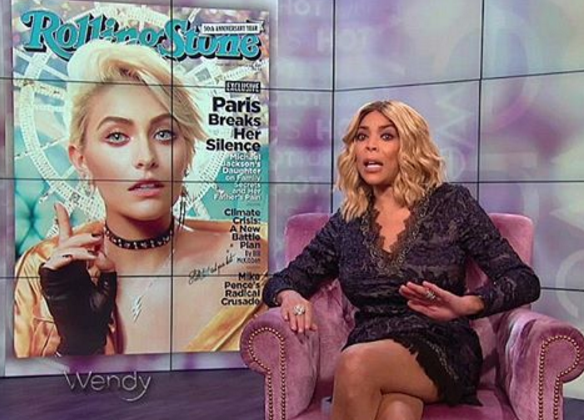 Wendy Williams Doesn't Consider Paris Jackson Black, Paris Responds