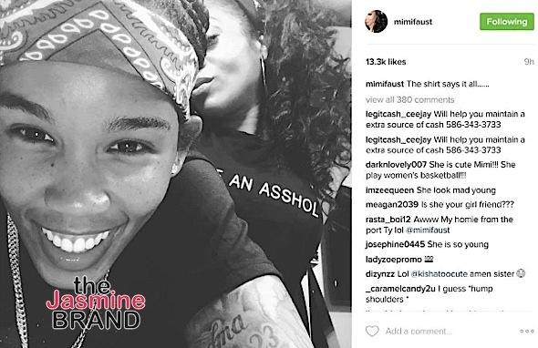 Mimi Faust Debuts Rumored Girlfriend WNBA Player Tamera Young