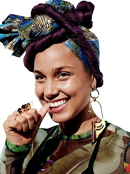 Alicia Keys Doesn't Agree With Social Norms: Let a boy paint his nails!
