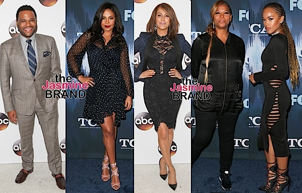 Tracee Ellis Ross, Naomi Campbell, Anthony Anderson, Sanaa Lathan, Queen Latifah, Serayah [Celebrity Stalking]