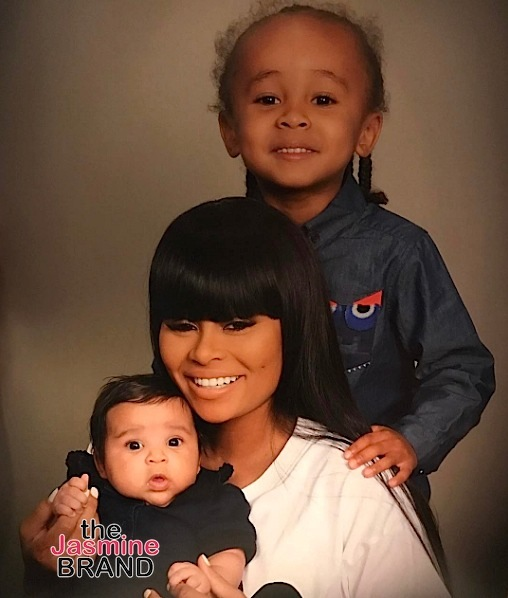 See Blac Chyna, King Cairo & Dream Kardashian's Family Photo!