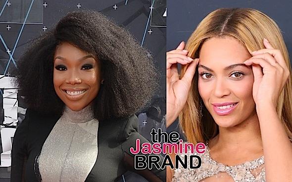 Brandy Denies Disrespecting Beyonce