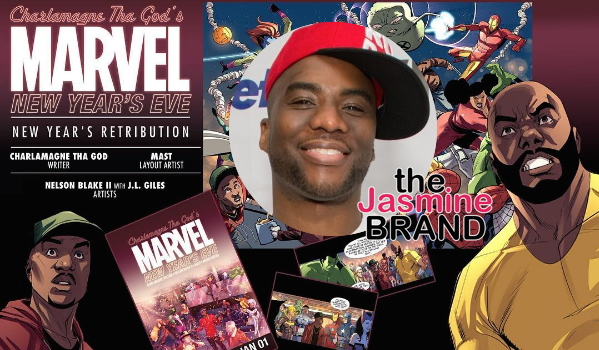 Charlamagne Tha God Lands Marvel Comic