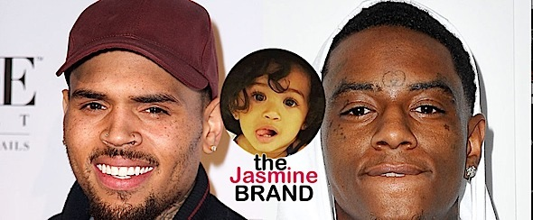 Chris Brown Calls Soulja Boy A B*tch: Don't talk about my daughter! [VIDEO]