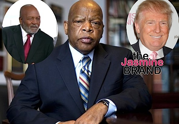 Jim Brown Blasts John Lewis: Stop crying because Trump won!