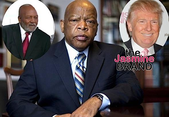 Jim Brown Blasts John Lewis: Stop crying because Trump won!