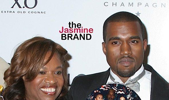 Kanye West Visits Mother's Grave, Brings Kim Kardashian & Kids