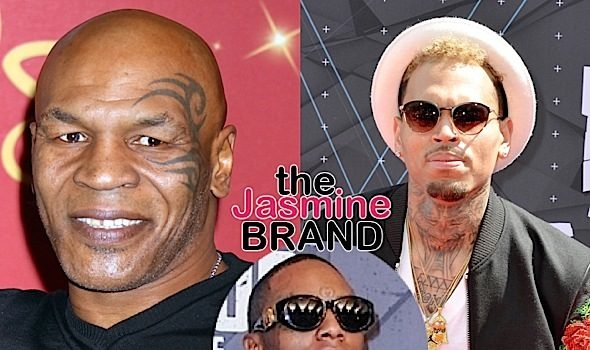 Mike Tyson Is Training Chris Brown: He's going to f#*k Soulja Boy up! [VIDEO]