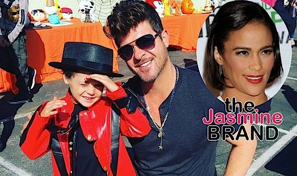 Robin Thicke Says Paula Patton Using Son To Punish Him For Not Allowing Her To Attend His Dad's Funeral