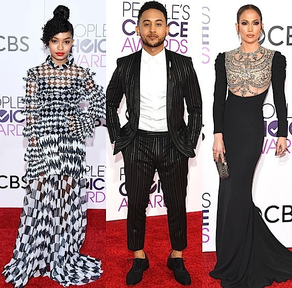 People's Choice Awards Red Carpet: Priyanka Chopra, Fifth Harmony, Yara Shahidi, Tahj Mowry, J.Lo