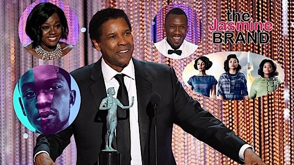 SAG Award Winners: Denzel Washington, Viola Davis, Mahershala Ali, 'Hidden Figures', 'Fences'
