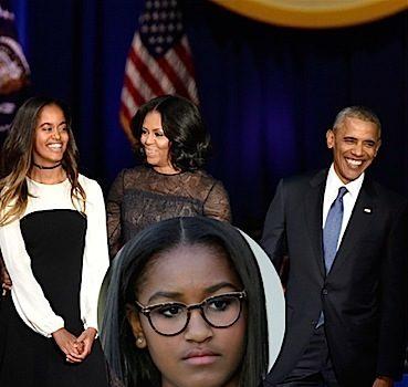 Where Was Sasha Obama During Father's Farewell? White House Explains